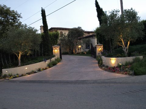 Exterior Lighting Newbury Park